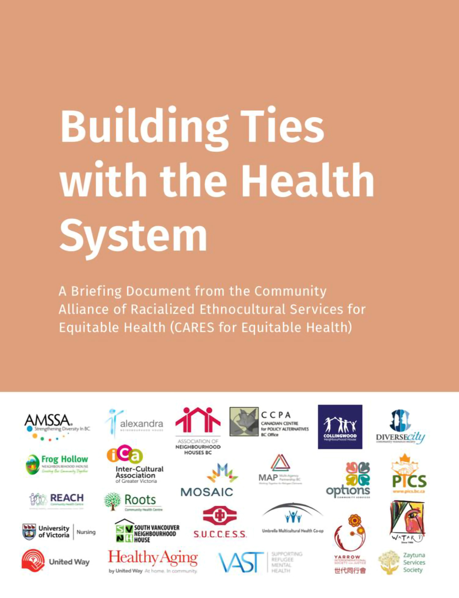 Community of Alliance of Racialized Ethnocultural Services For Equitable Health